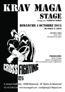 Stage Pieds/Poings 04 octobre 2015