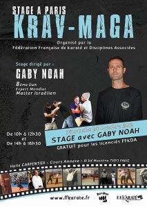 Stage FFKDA avec Gaby Noah octobre 2013