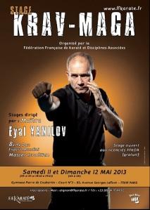 Stage FFKDA Eyal Yanilov mai 2013