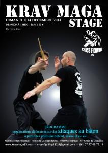 Stage attaque baton 14-12-2014