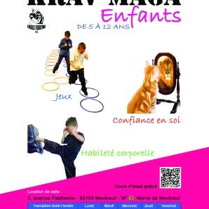 krav maga (A5) cours enfant 2015-2016_def